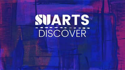 SU Arts Discover is a new online workshop series bringing you creative and artsy workshops to get involved every week.