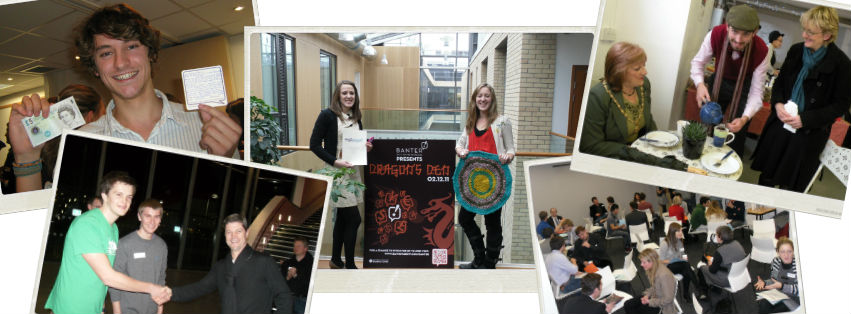 Students taking part in Enterprise Bath events